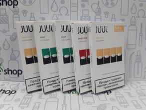 Картридж JUUL 0.7 мл 50 мг в ассортименте
